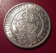 Suecia 2 coronas 1921 IMG_4721