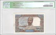 50 Francs Comoros, 1960 (P2s) Comoros_P2s_50_francs_1960_63_R