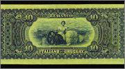 10 pesos Uruguay 1887 (Banco Italiano del Uruguay) Uru2