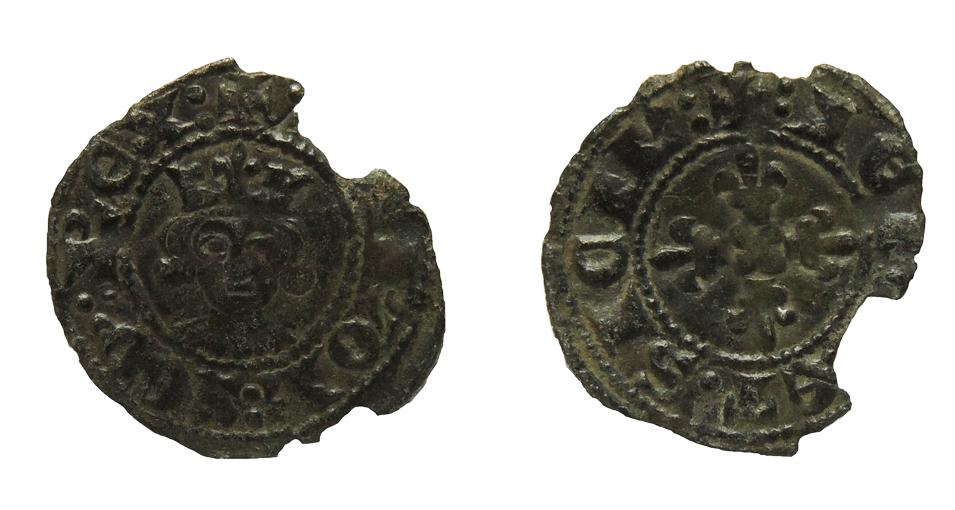 Denaro regale de Carlos II de Anjou (1285-1309) de Nápoles Carlos_Regale_0_6g_18mm