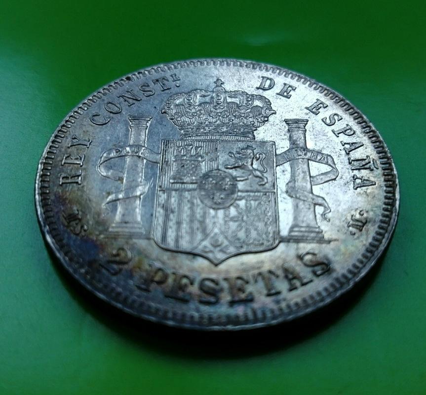 2 pesetas 1882. Alfonso XII IMG_20161208_153428