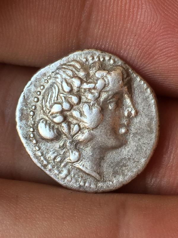 Iliria, Corcyra. Didracma, 229 a.C., con doble acuñación. IMG_0370