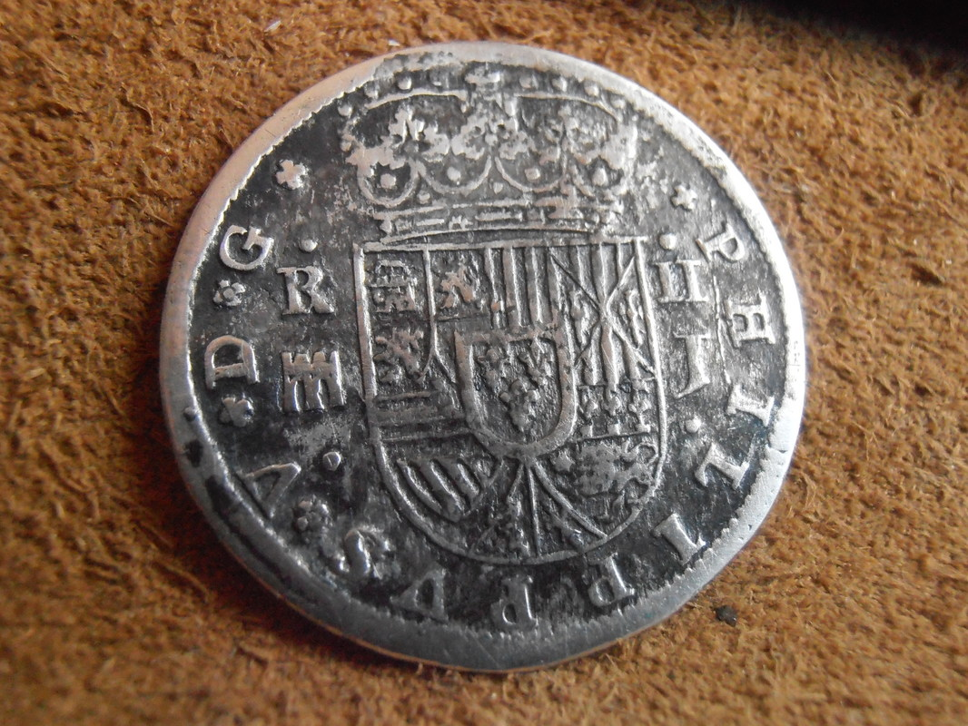 2 reales de Felipe V - Segovia: VARIANTES 1717-