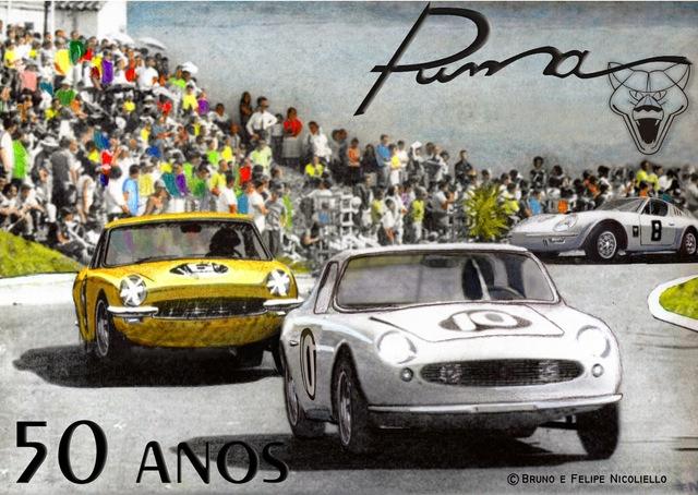 Auto Storiche in Brasile - Puma Puma_50_anos