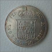 120 Grana 1856 Ferdinandus II ,Reino de las dos Sicilias (infantes de España ) Image