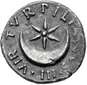Glosario de monedas romanas. CRECIENTE. Image