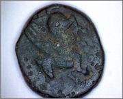 AE12 de Corinto (Pegaso y tridente). 428_5b