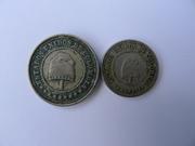 2 y medio centavos, Estados Unidos de Colombia, 1881 P1170907