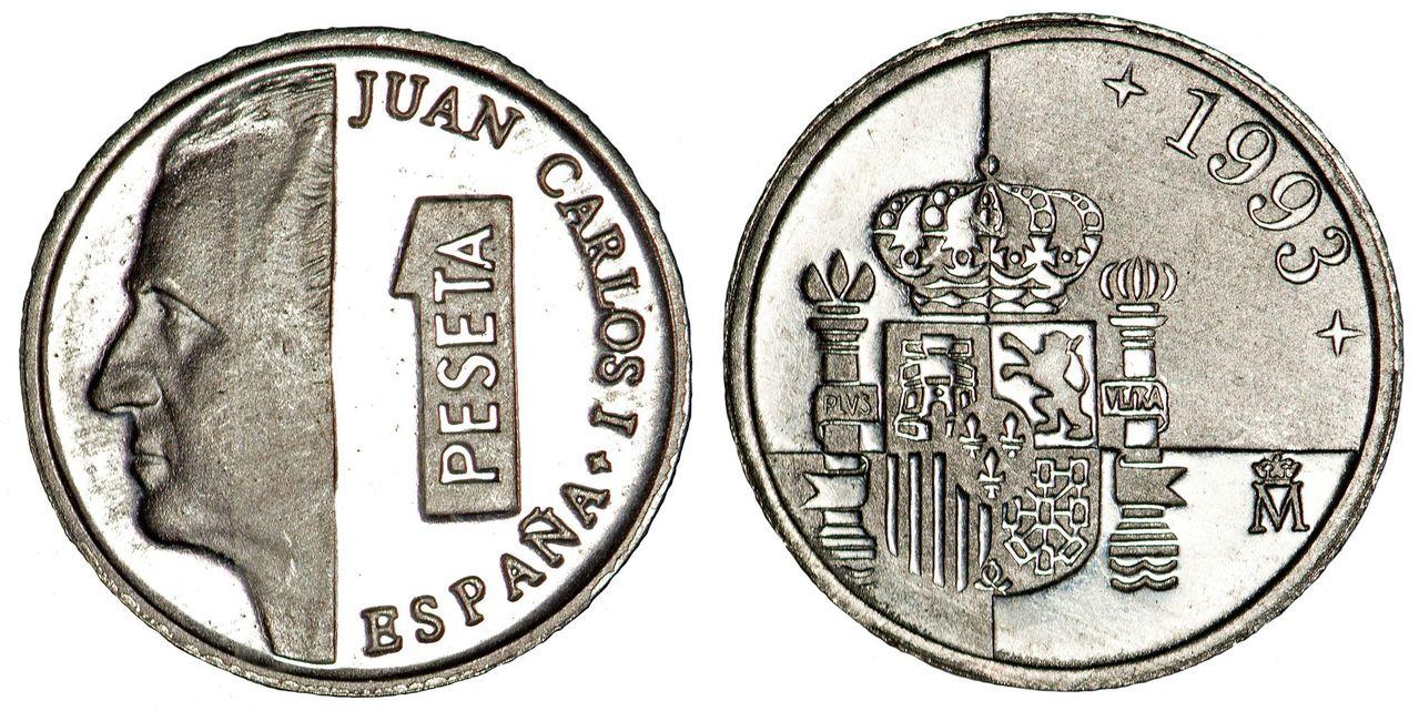La progesion de la peseta y su decadencia. Image