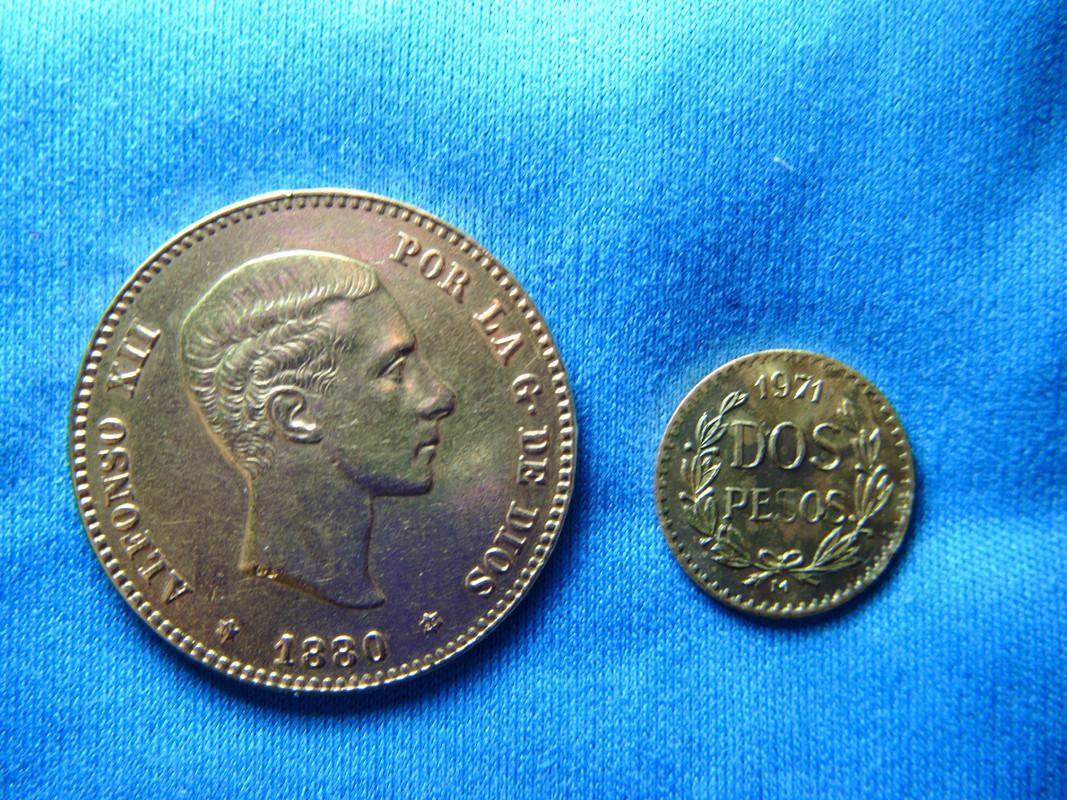 1/5 Hidalgo (2 Pesos de oro). Mexico. 1971 2_pesos_mexicanos_de_1971