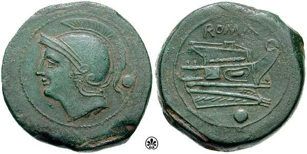 Denominación de monedas en la antigua Roma: La República. 0_0uncia_repu