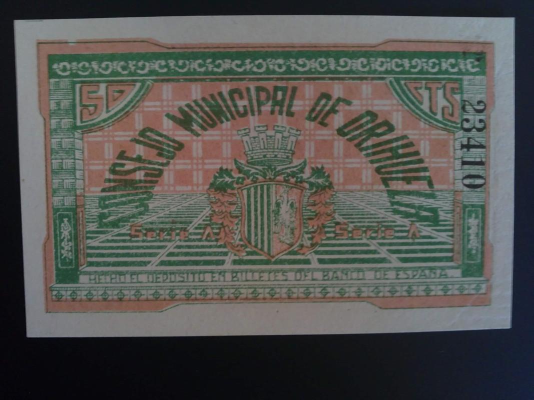50 centimos Orihuela (Alicante) 13 Mayo 1937 01022013008