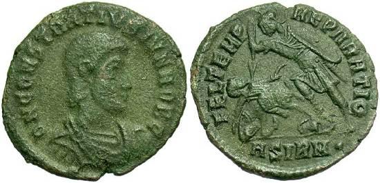 Denominación de monedas en la antigua Roma: El Bajo Imperio. 000