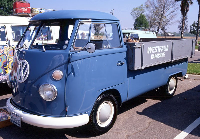 Single cab with enlarged wood bed 1960 Adair