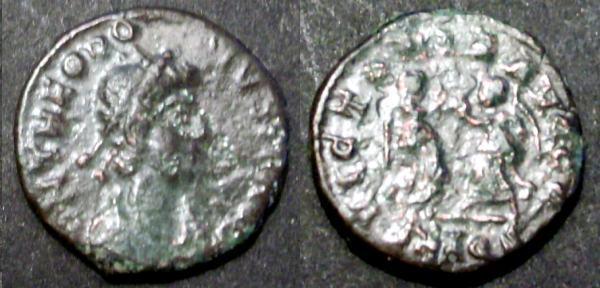 Denominación de monedas en la antigua Roma: El Bajo Imperio. 00000000000