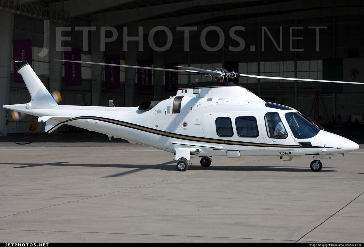 Aeronaves  Matriculas  XC-  ( Por Estados) Agusta_A109_S_Grand_XC_ALM_2011