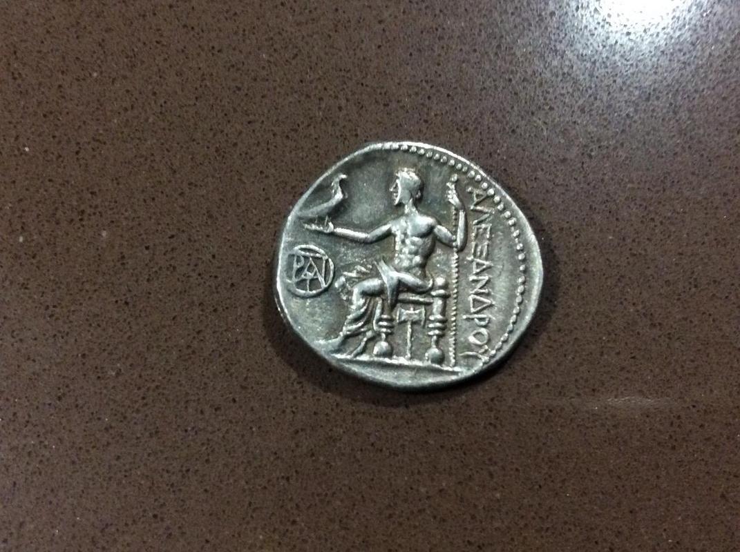 Dracma de Demetrios I Poliorketes a nombre de Alejandro III. Mileto IMG_4483