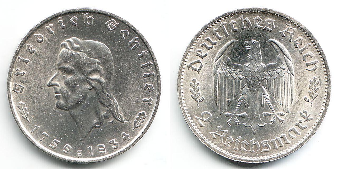 Monedas Conmemorativas de la Republica de Weimar y la Rep. Federal de Alemania 1919-1957 140922065bz