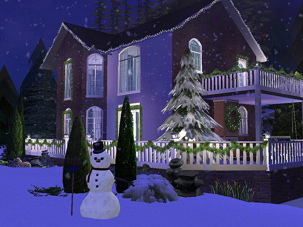 Hellohello: Domy Christmas_Lane_oudoor_28
