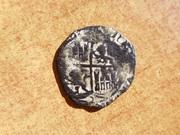 Real de Vellon de Enrique II de Castilla 1369-1379  P1420255
