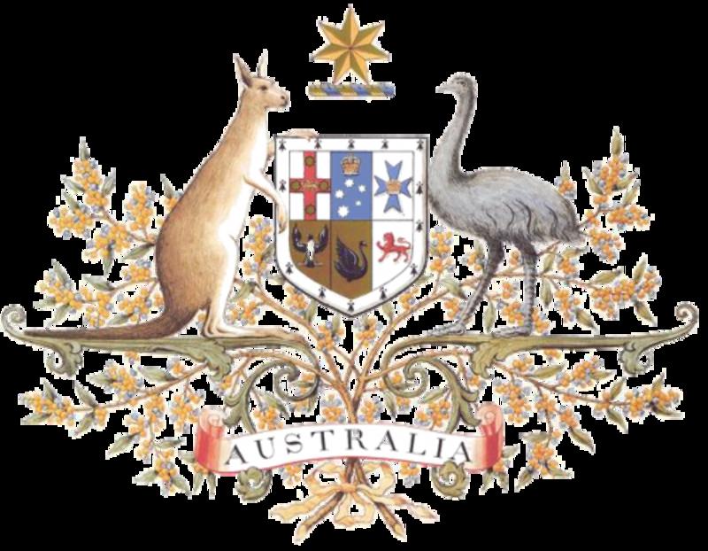 MONEDA DE 50 CENTAVOS DE DOLAR DE AUSTRALIA 1973 TTT_ESCUDO_DE_AUSTRALIA