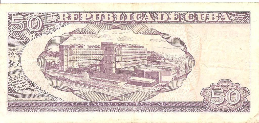 50 peso de Cuba año 2007 Image