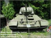 Советский средний танк Т-34, музей Polskiej Techniki Wojskowej - Fort IX Czerniakowski, Warszawa, Polska 34_110
