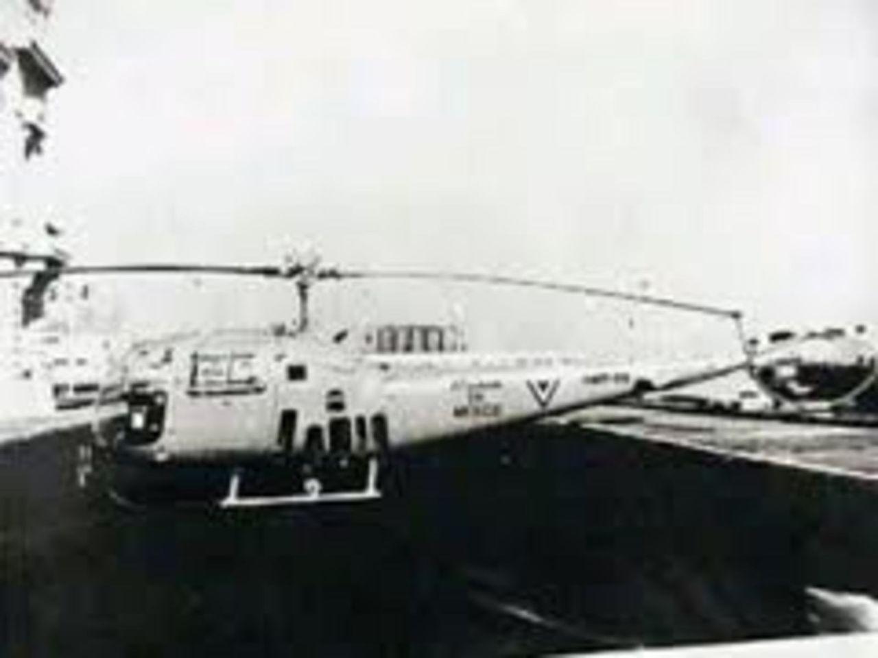 Aeronaves  del pasado de la SEMAR. Alhouette_SEMAR
