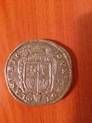 Escudo Felipe II Milán 1582  IMG_20160929_212248
