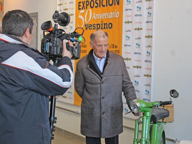 Exposición 50º Aniversario del Vespino, 17 Feb IMG_0511