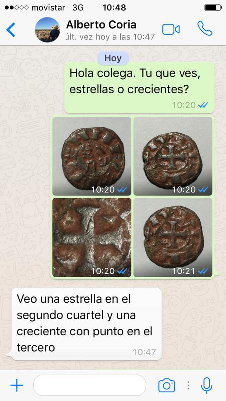 """Dinero pepión de Alfonso VIII tipo """"biempeinao"""" IMG_1744"""