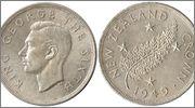 NUEVA ZELANDA 1 Corona 1949 Nueva_Zelanda_1_Corona_1949