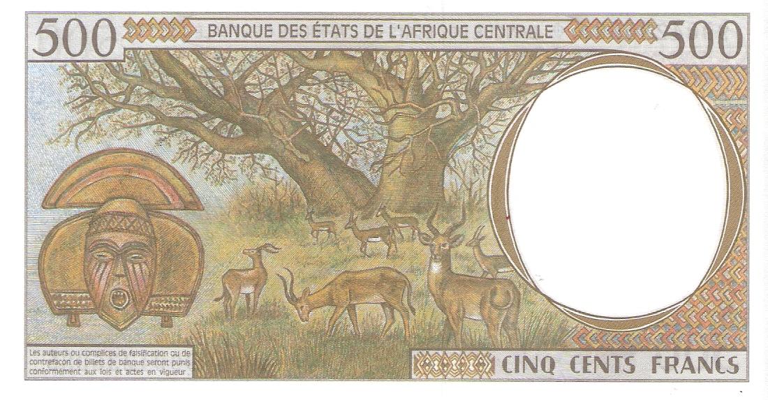 500 Francos Republica Centroafricana Escanear0004