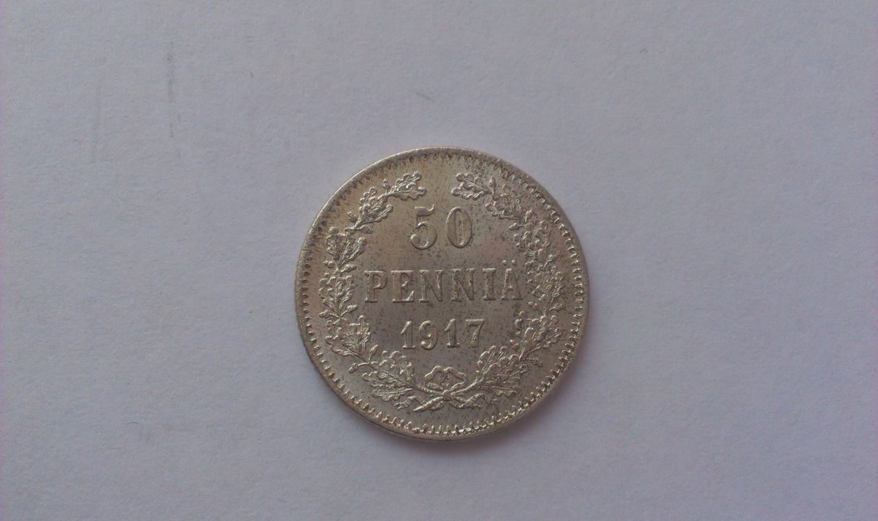 50 Penniä 1917 Finlandia IMAG2202