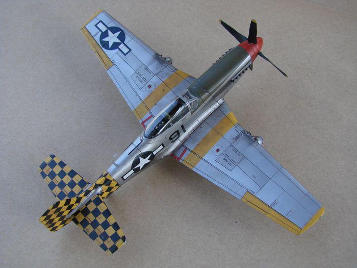 Mustang x2 P-51B Revell & P-51D Tamiya, 1/72 DSC09779