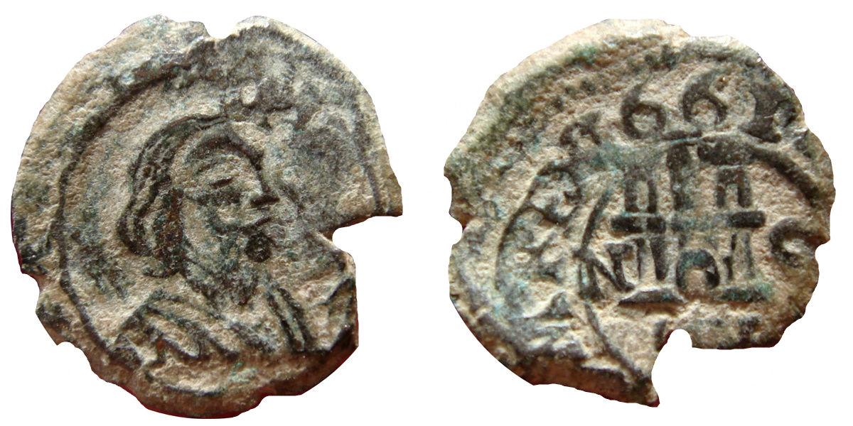 4 Maravedis de 1661. Felipe IV, ceca Granada a martillo Image