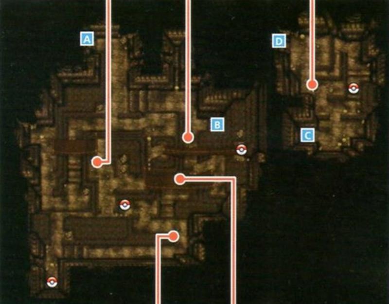 Lugares extraños, perturbadores, misteriosos, etc de Pokémon (hay spoilers) Cueva_Desenlace_planta_1_XY