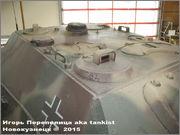 """Немецкая тяжелая САУ  """"JagdPanther""""  Ausf G, SdKfz 173, Deutsches Panzermuseum, Munster Jagdpanther_Munster_048"""