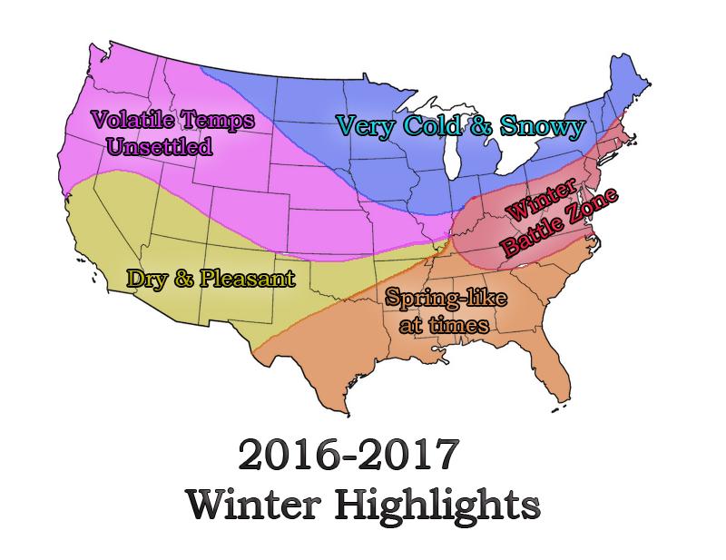 2016-2017 Winter Outlook Winter_highlights
