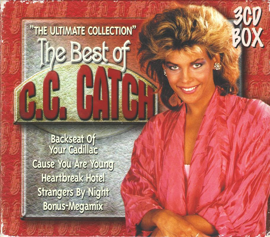C.C. Catch - The Best Of; The Ultimate Collection - 2000, 3CD, FLAC Box_Front
