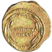 Glosario de monedas romanas. CORONA SPICEA. Image