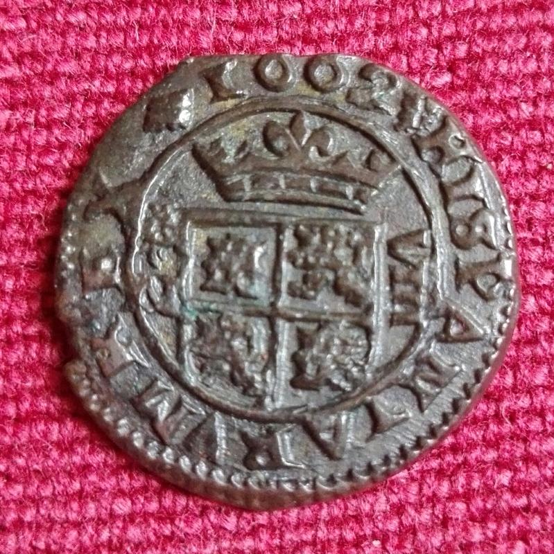 8 maravedís 1662. Felipe IV. Granada IMG_20170722_133214