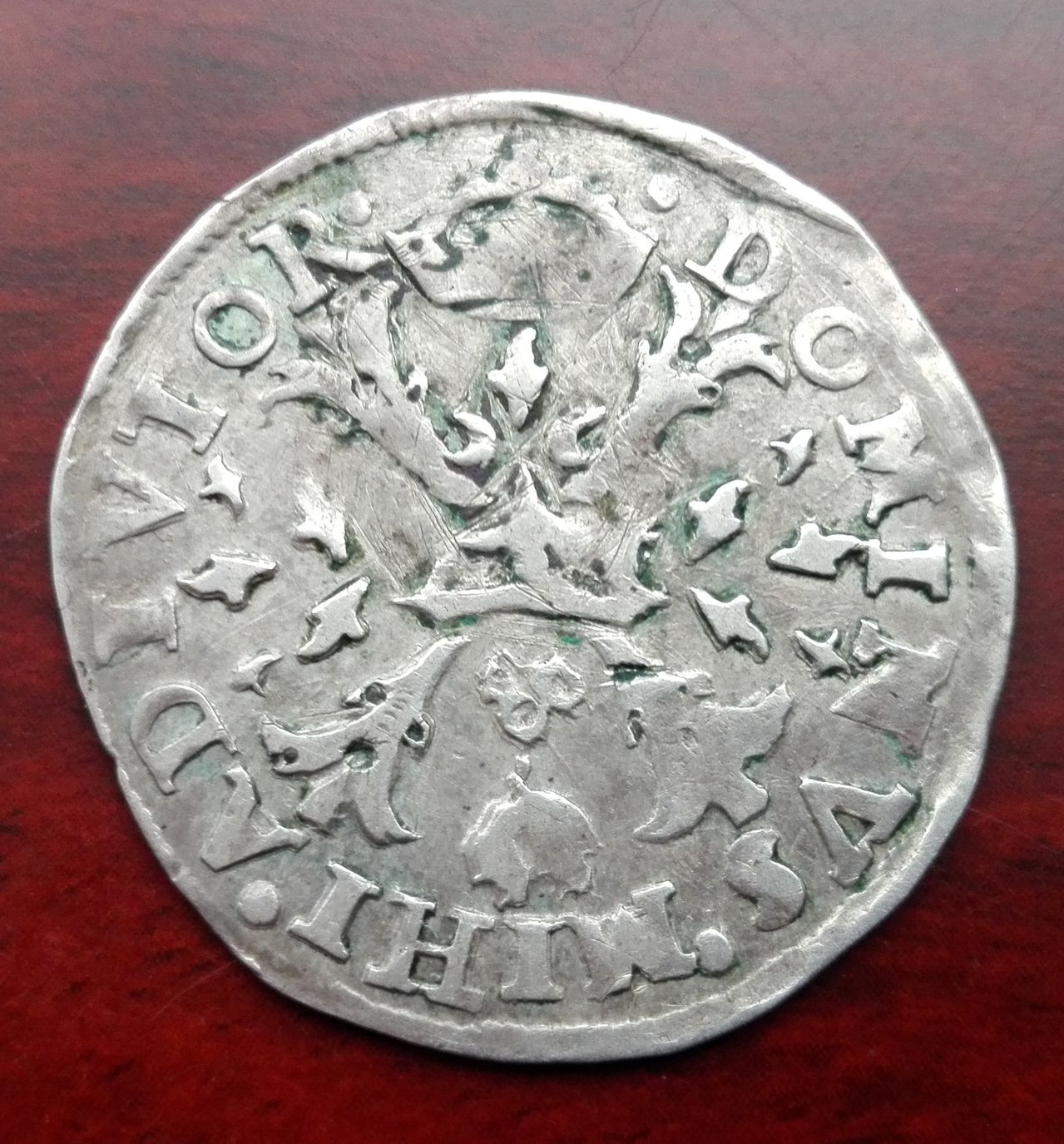 1/10 escudo Felipe de 1571, Amberes  IMG_20160317_162452