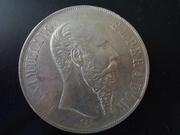 1 Peso 1.866, Emperador Maximiliano de Méjico DSCN1407