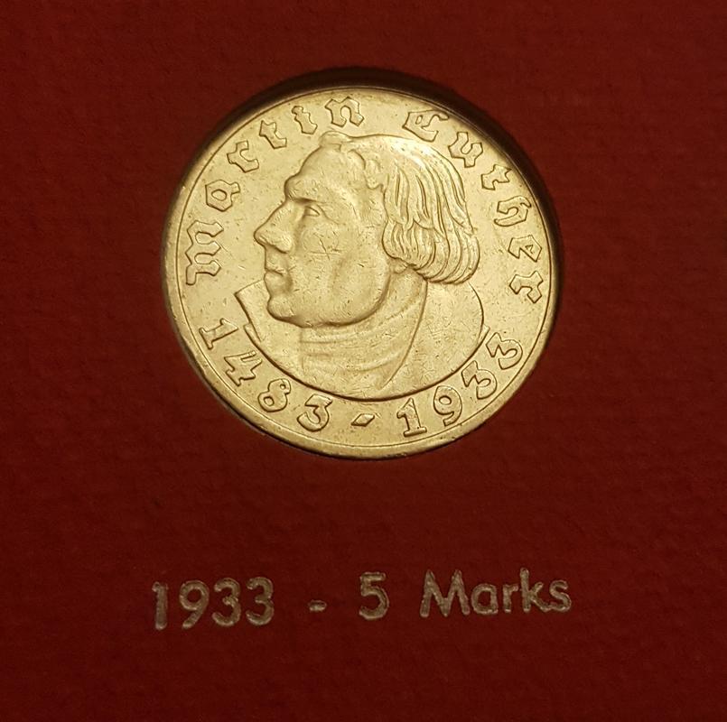 Monedas Conmemorativas de la Republica de Weimar y la Rep. Federal de Alemania 1919-1957 - Página 4 1933a