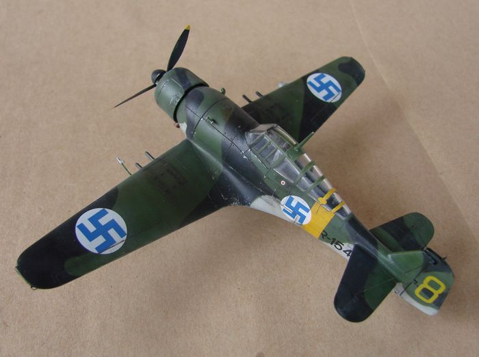 Finski Fokkeri D.XXI, Special Hobby, 1/72 DSC01494