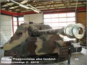 """Немецкая тяжелая САУ  """"JagdPanther""""  Ausf G, SdKfz 173, Deutsches Panzermuseum, Munster Jagdpanther_Munster_043"""