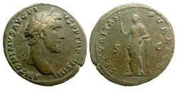 Sestercio de Antonino Pío. SECVRITAS PVBLICA S C. Ceca Roma. Antonino_Pio