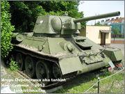 Советский средний танк Т-34, музей Polskiej Techniki Wojskowej - Fort IX Czerniakowski, Warszawa, Polska 34_109
