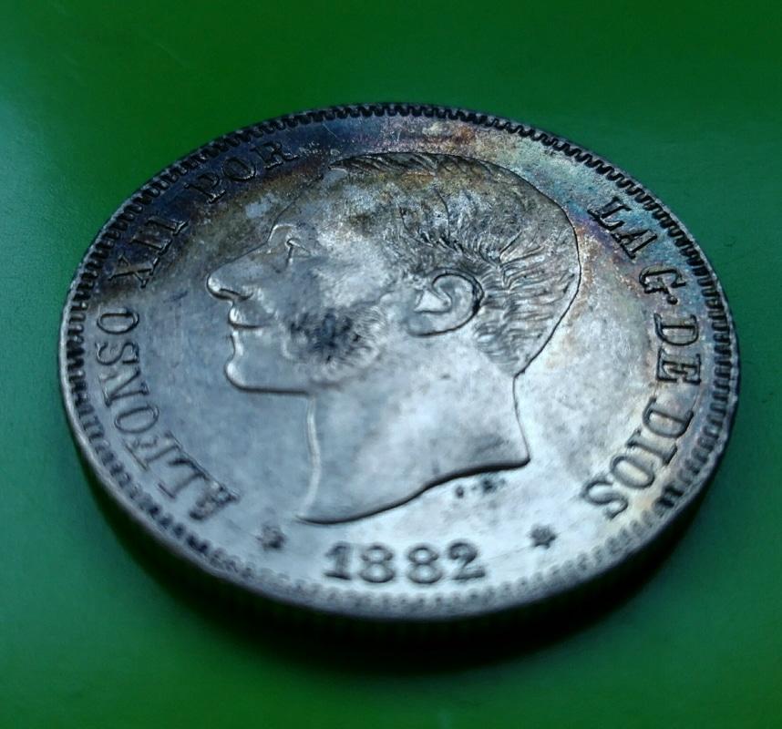 2 pesetas 1882. Alfonso XII IMG_20161208_143240